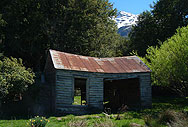 Old Shed on the way to Kinloch